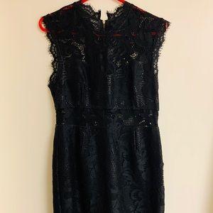 Forever 21 Black Cutout Dress